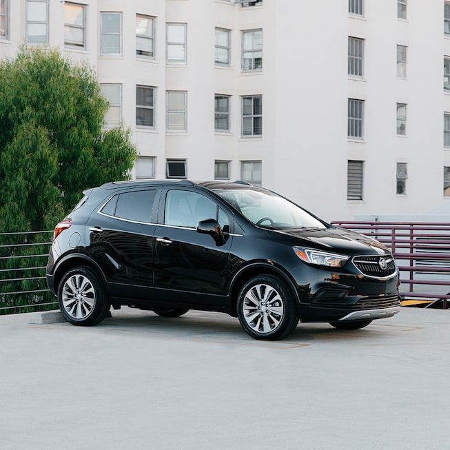 2020 Buick Encore Side and Front Profile.