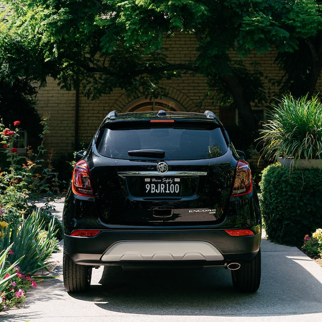 2020 Buick Encore Small SUV Rear View.