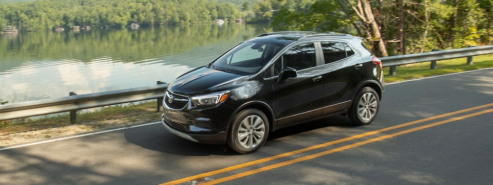 2020 Buick Encore Small SUV Wide Angle View.