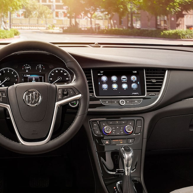 2020 Buick Encore Small SUV: Interior Control Panel View.