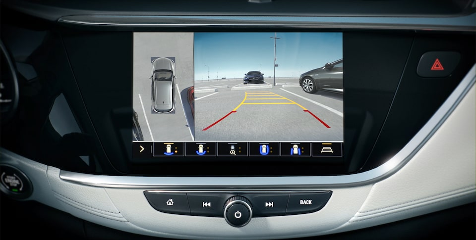 The First Ever Encore GX Safety Features: High Definition Surround Vision.