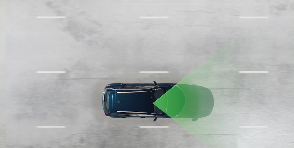 The First Ever Encore GX Safety Features: Lane Keep Assist With Lane Departure Warning.