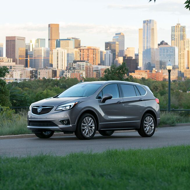 Gray 2020 Buick Envision Exterior.