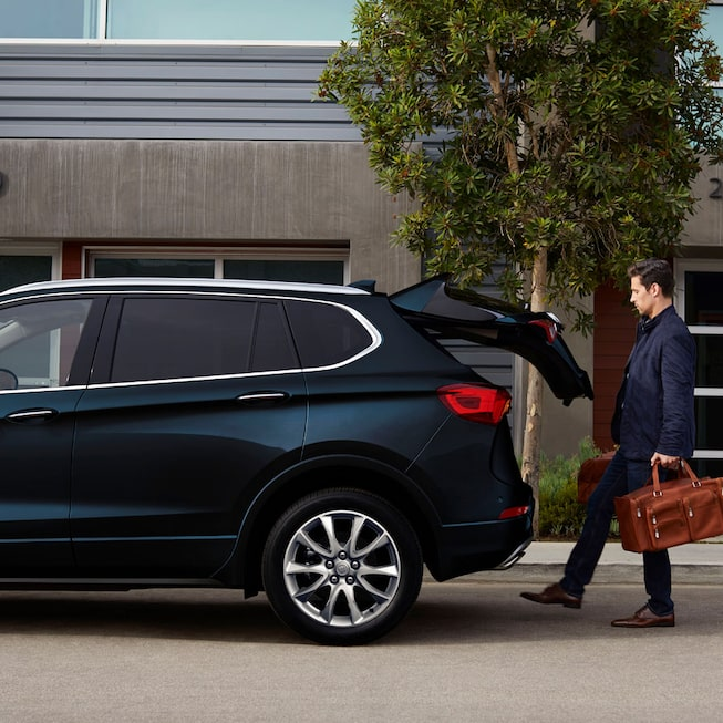 Black 2020 Buick Envision Hands-Free Liftgate.
