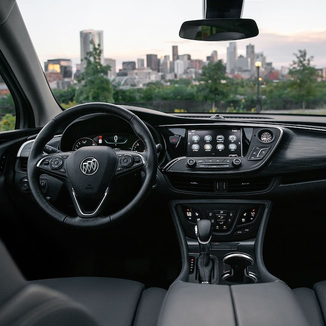 2020 Buick Envision Dashboard.