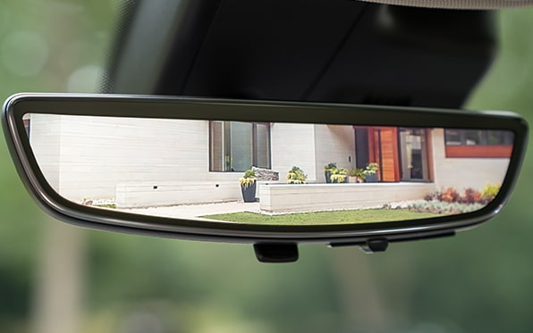 2021 Buick Envision Avenir rear camera mirror.