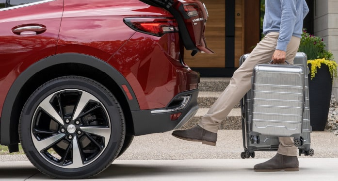 2021 Buick Envision hands-free liftgate.