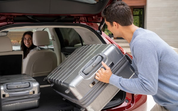 2021 Buick Envision cargo.