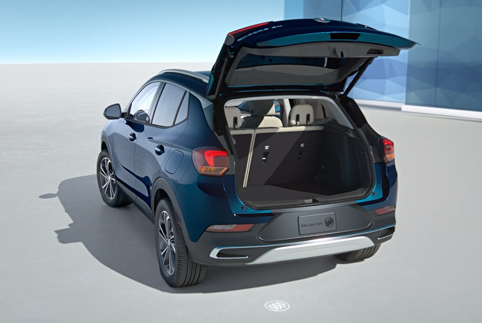 2020 Buick Encore GX Hands-Free Power Liftgate Video.