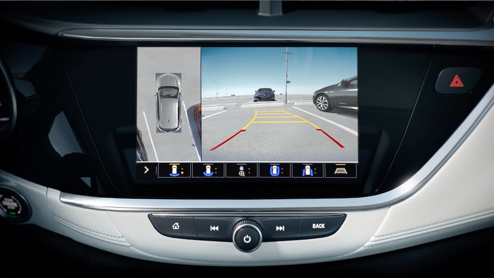 Buick Encore GX High Definition Surround Vision Safety Feature.