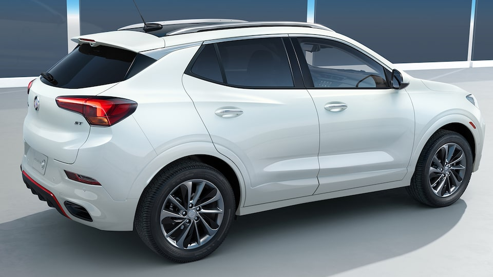 The All-New 2020 Buick Encore GX Sport Touring  Spoiler.