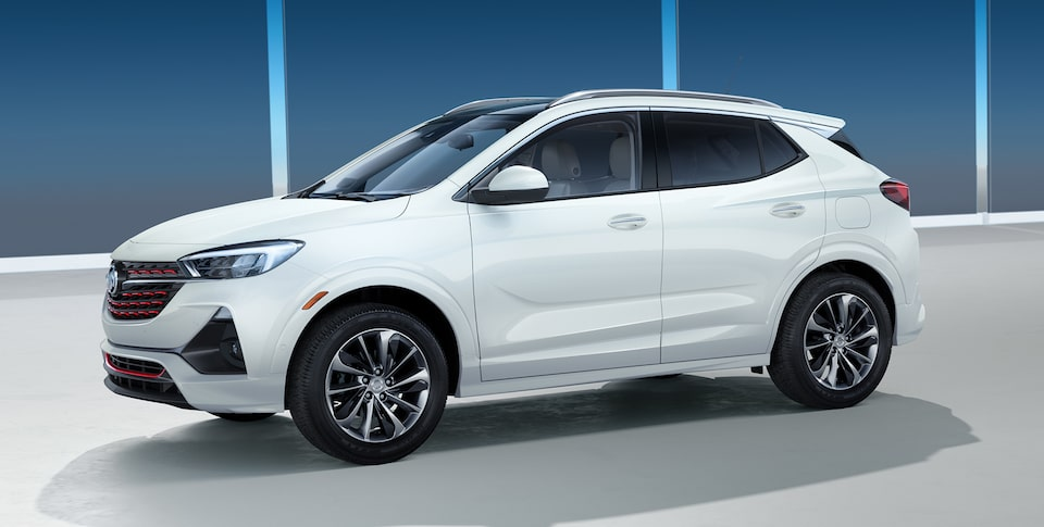 The All-New 2020 Encore GX Sport Touring Side View.