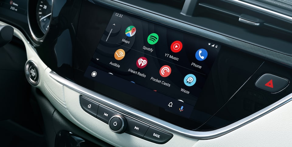 Buick Encore GX Android Auto.