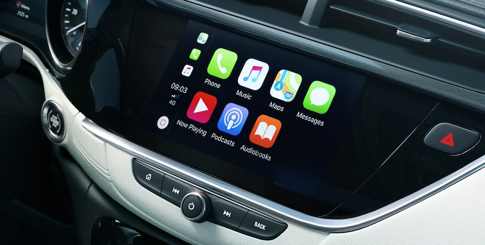Apple CarPlay du Buick Encore GX.