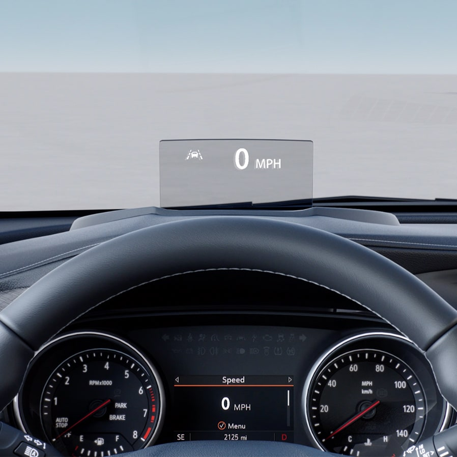 2020 Encore GX Head-Up Display Video.