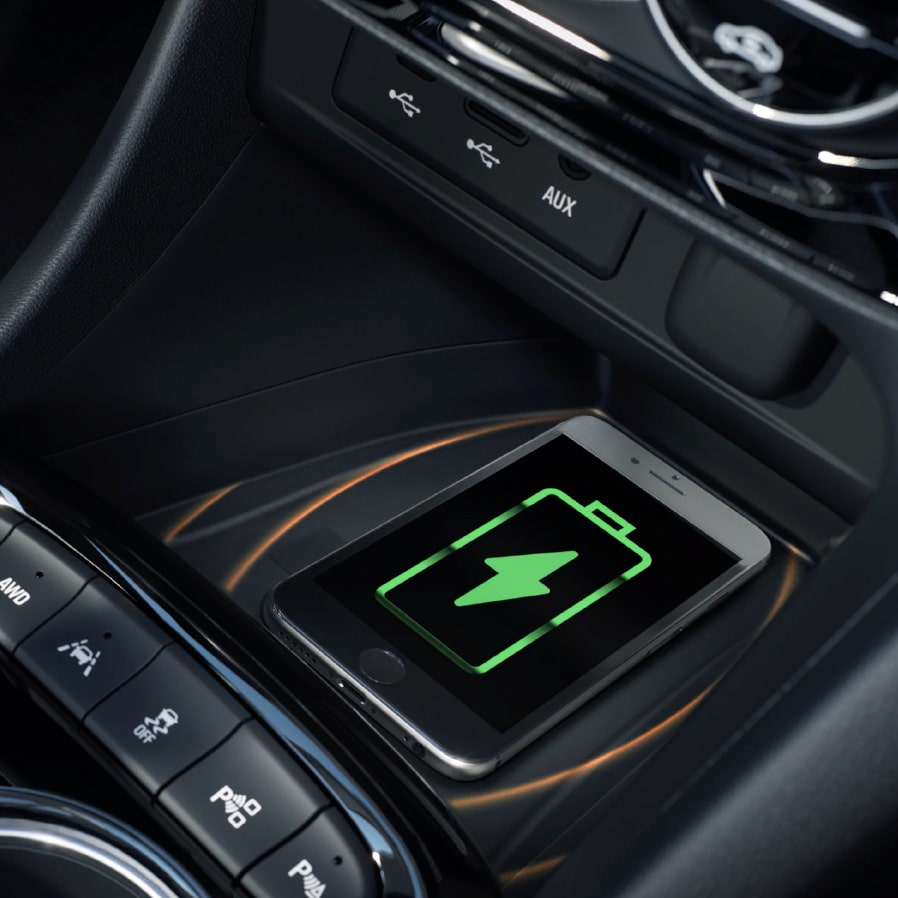 2020 Encore GX Wireless Charging.