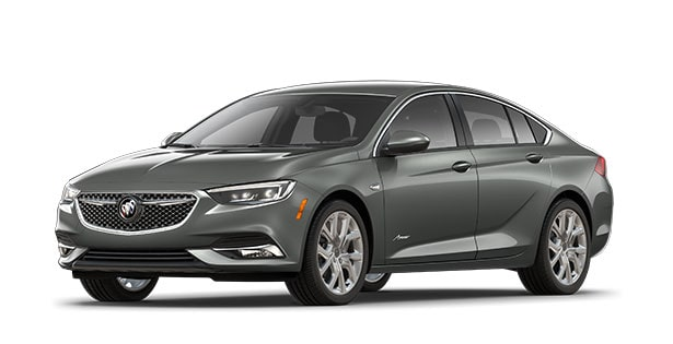 2019 Buick Regal Avenir mid-size luxury sedan.