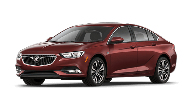 The 2019 Buick Regal Sportback essence trim.