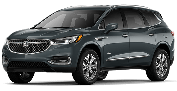 The 2019 Buick Enclave Avenir trim.