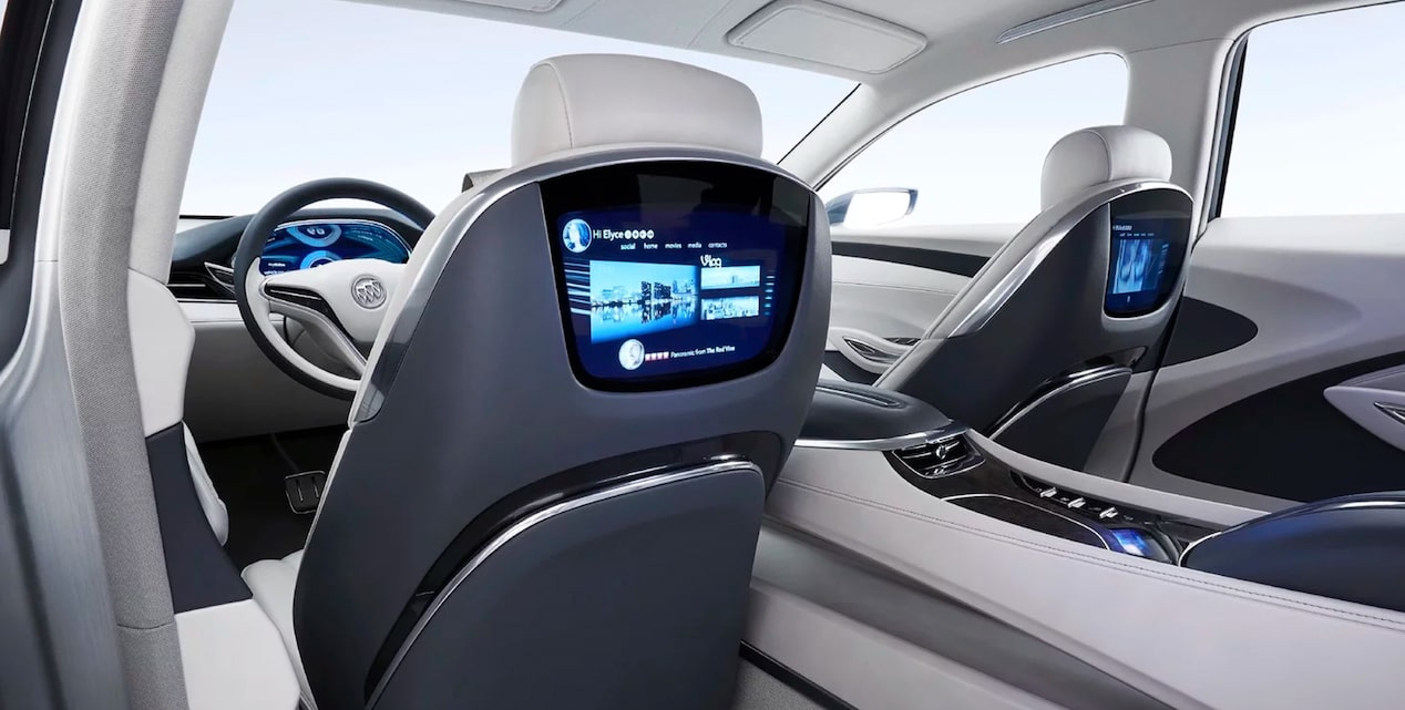 Buick Avenir's exterior and interior design features.