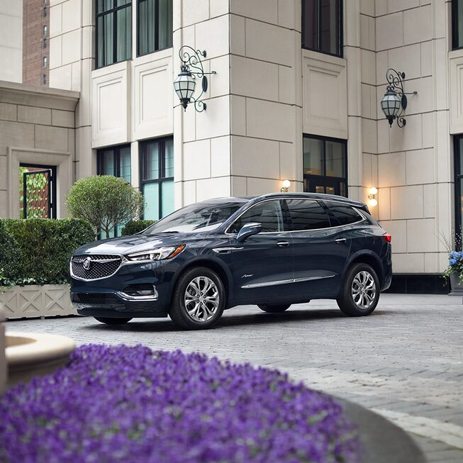 2020 Buick Enclave SUV Parked.