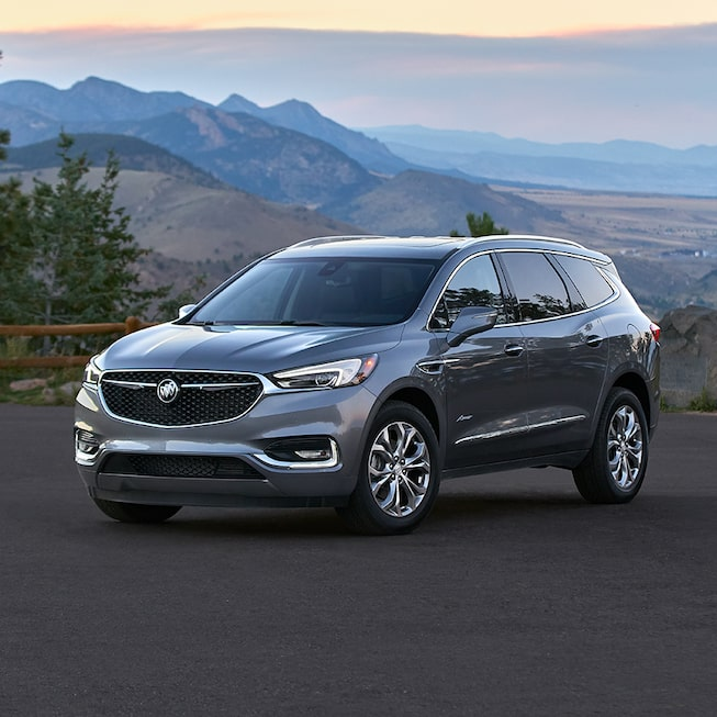 2020 Buick Enclave Mid-Size SUV With A Mountain View.