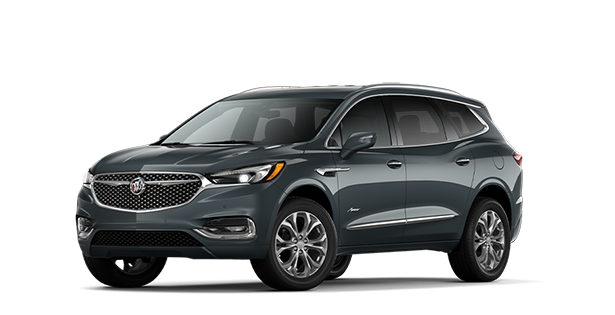 2020 Buick Enclave Avenir in Dark Slate Metallic.