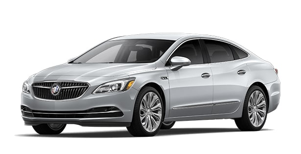 2019 Buick LaCrosse full-size luxury sedan.