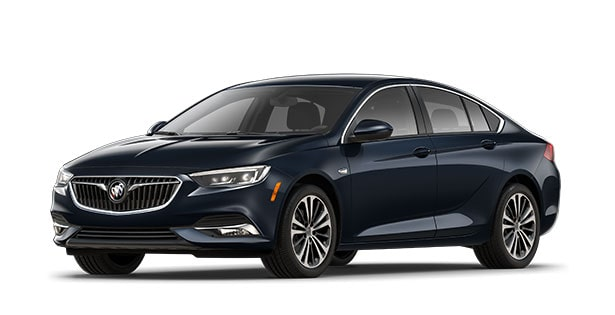 2019 Buick Regal Sportback mid-size luxury sedan.