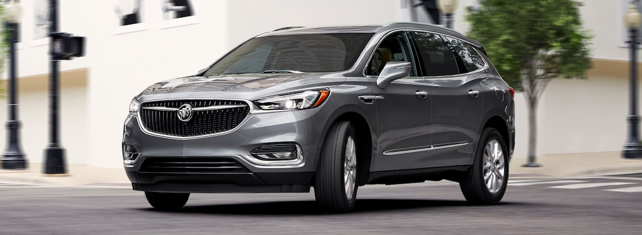 The 2019 Buick Enclave mid-size luxury SUV.
