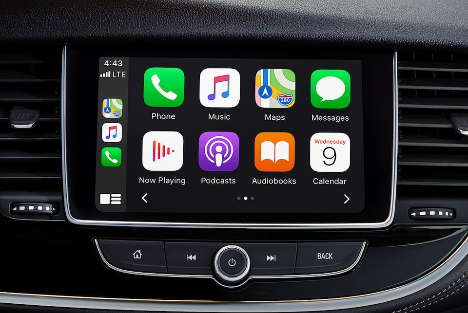 VUS Buick Encore 2020 : Apple CarPlay.