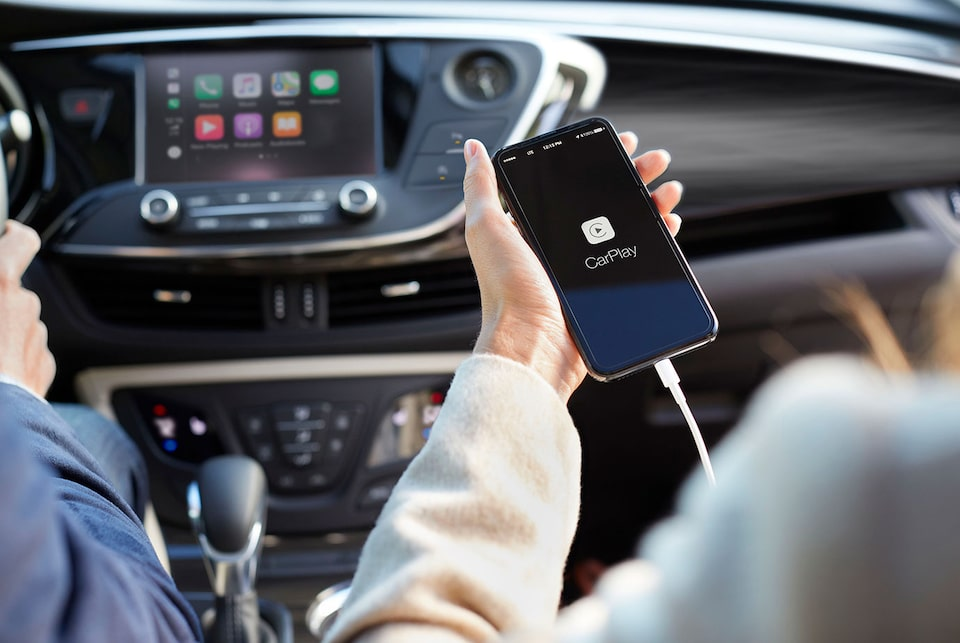 Apple CarPlay du Buick Envision 2020.