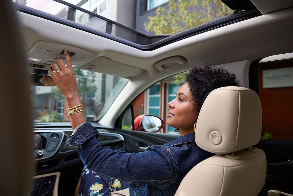 Envision panoramic moonroof.