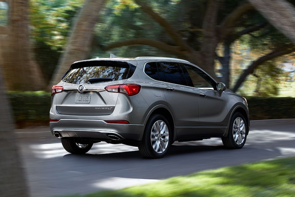 Buick Envision intelligent all-wheel drive.
