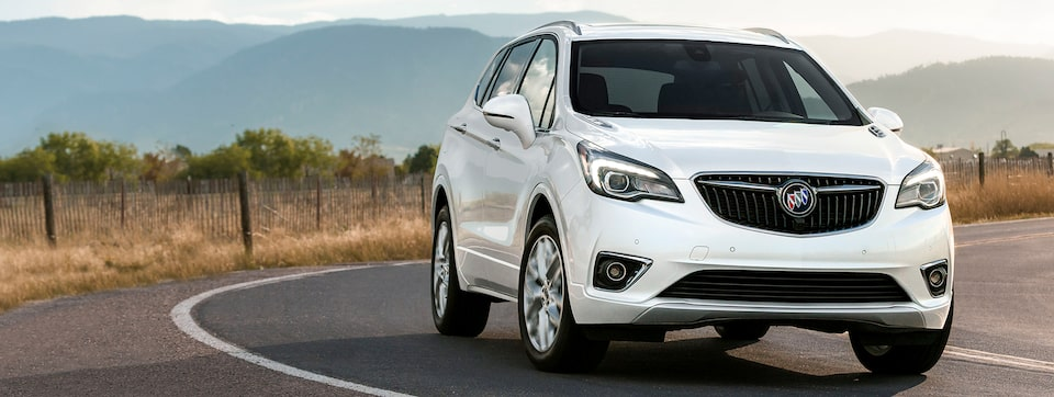 2020 Buick Envision performance.