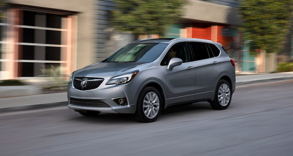 Buick Envision stop start technology.