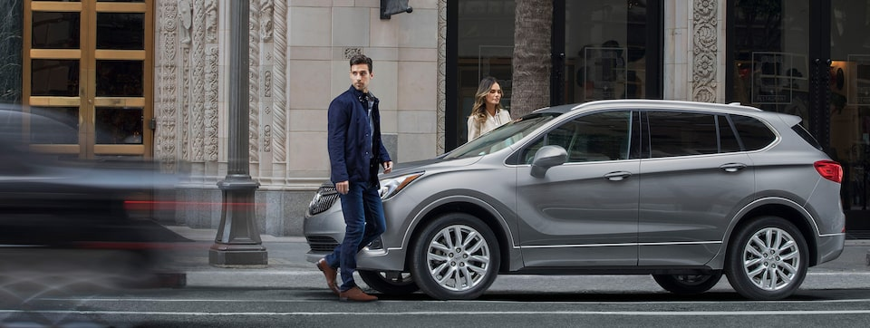 2020 Buick Envision advanced safety and driver assistance technology.