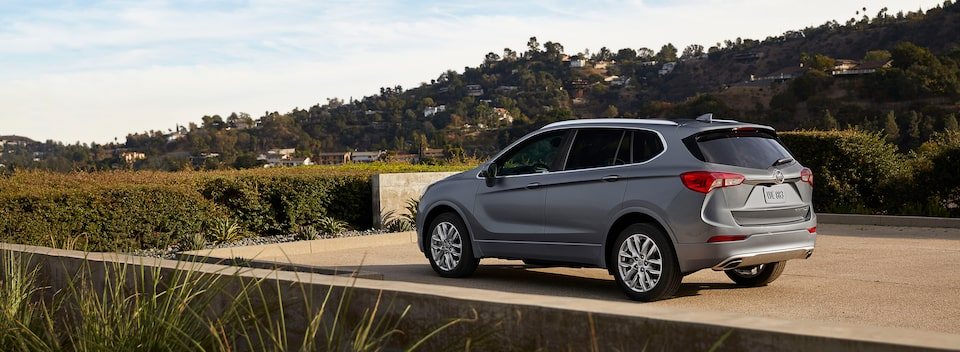 The 2020 Buick Envision compact SUV.