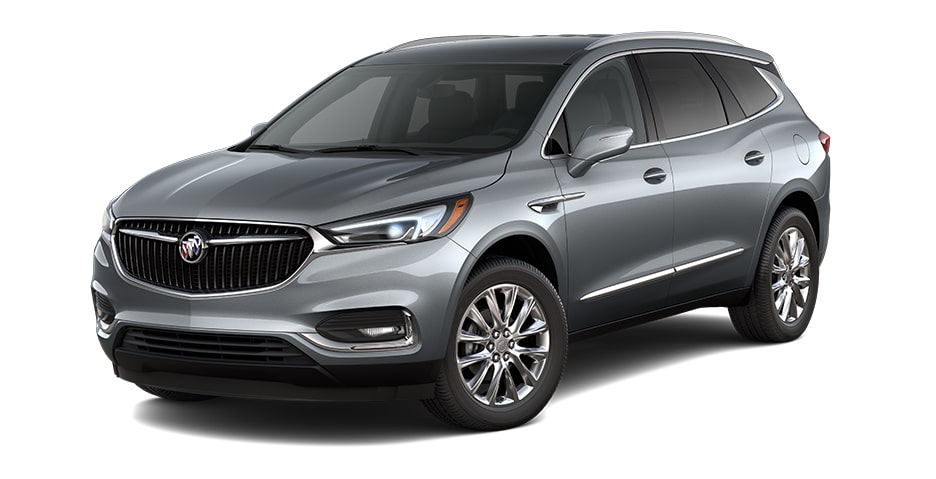 2021 Buick Enclave in Satin Steel Metallic.