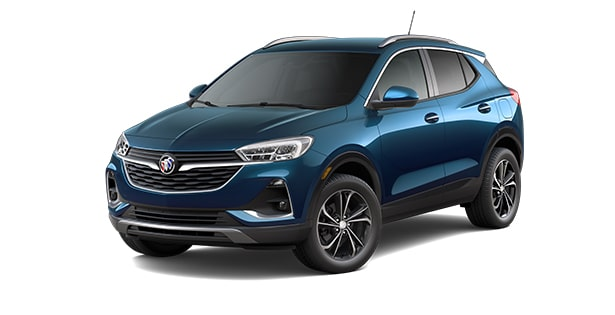 2021 Buick Encore GX in Deep Azure Metallic.