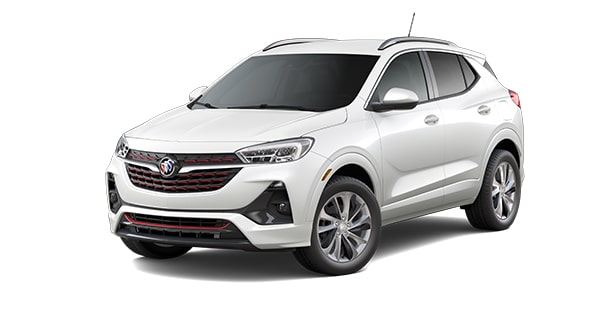 2021 Buick Encore GX ST in White Frost Tricoat.