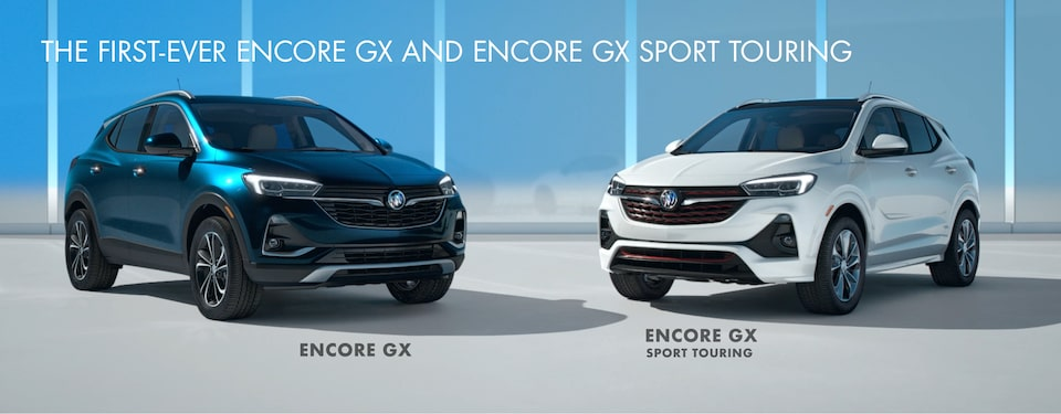 The first-ever Encore GX and Encore GX Sport Touring.