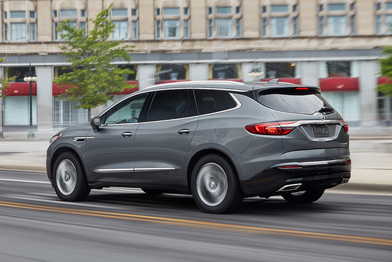 Enclave SUV's available performance features.